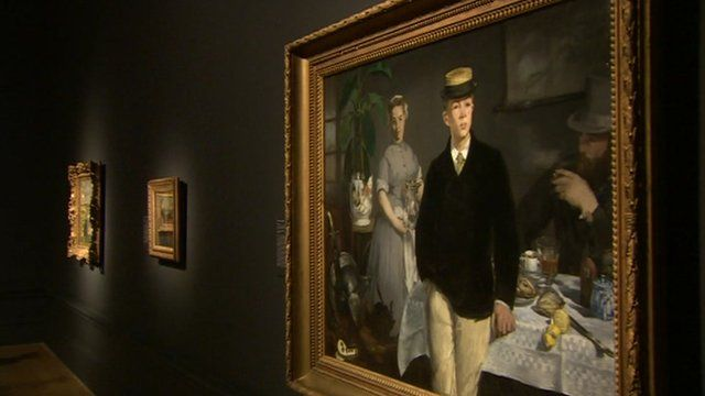 Manet portraits hung in Royal Academy, London