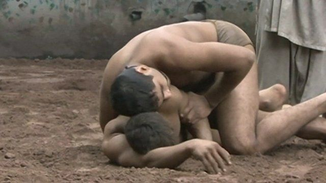 Pakistani wrestlers