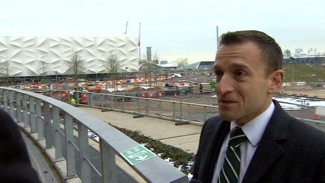 Peter Tudor from the London Legacy Development Corporation