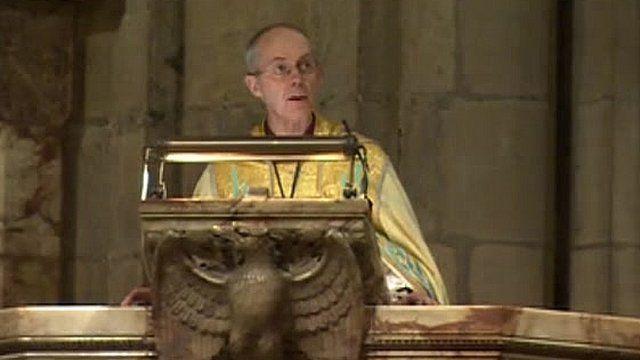 Bishop Justin Welby