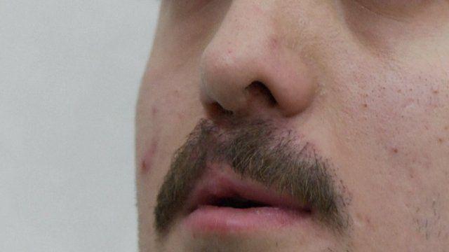 a moustache