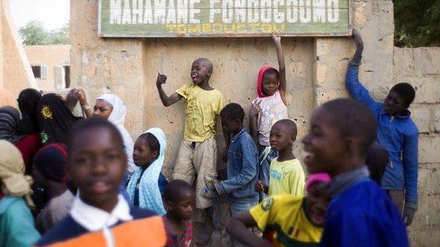 Malian children