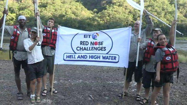 Comic Relief celebrity challengers