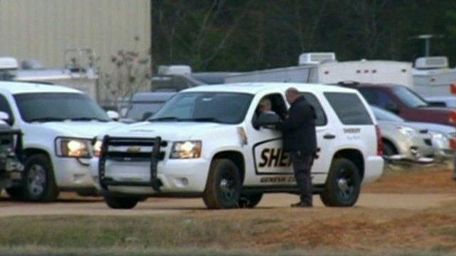 Sheriff vehicle in Alabama