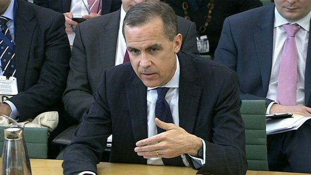 Future governor of the Bank of England Mark Carney