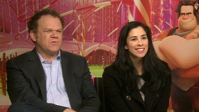 John C Reilly and Sarah Silverman