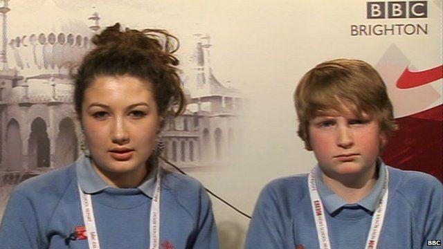 Emilie and Ben
