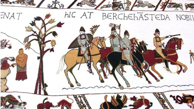 The final piece of the Bayeux tapestry