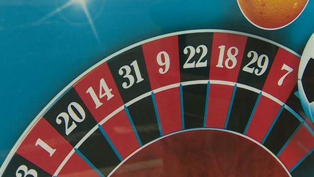 Gambling advert