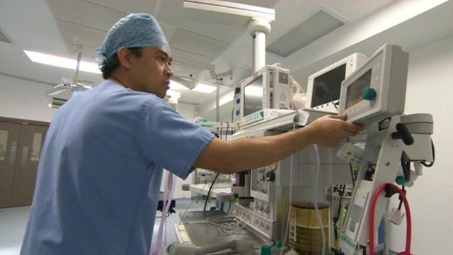 Medical scene