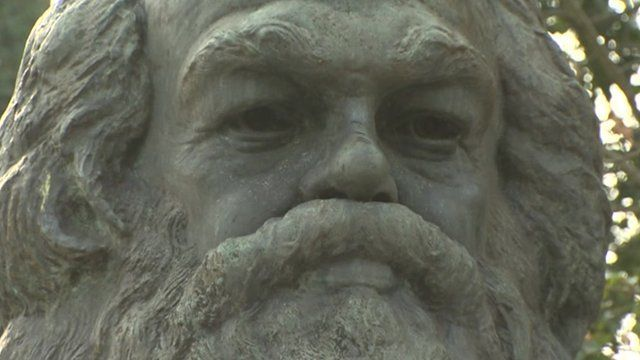 Karl Marx statue