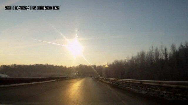 Meteor above Russia