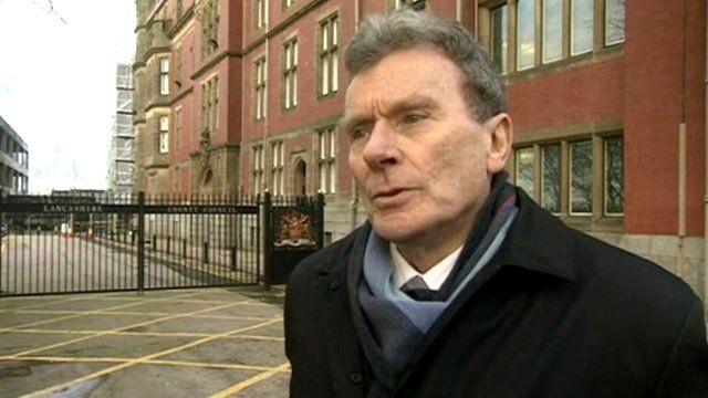 Councillor Geoff Driver, Lancashire county council