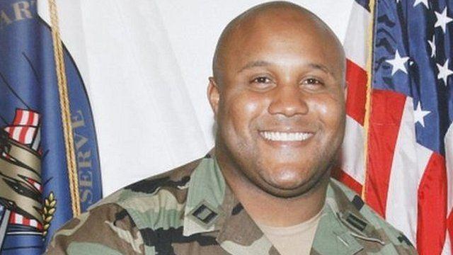 Christopher Dorner in military uniform in 2008