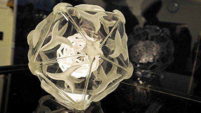 Model of a virus