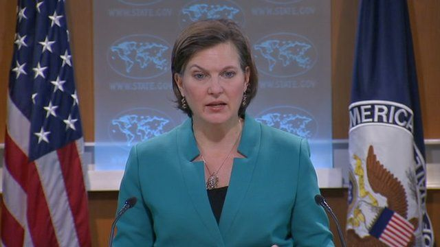 State department spokeswoman Victoria Nuland