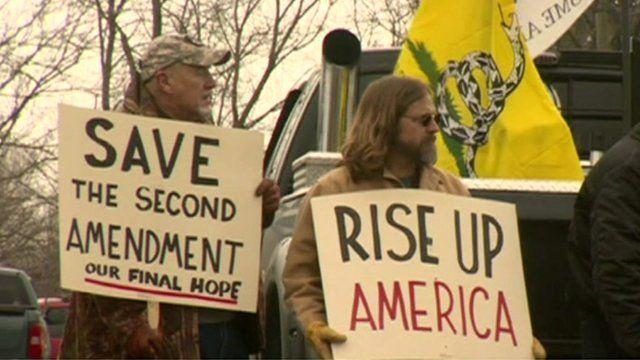 Pro-gun campaigners