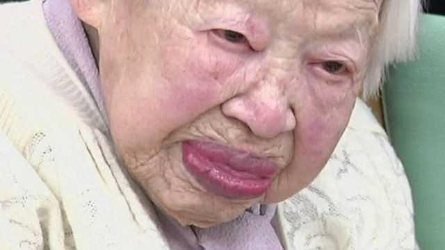 Misao Okawa, 114 years old