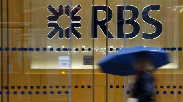 Headquarters of the Royal Bank of Scotland in the City of London