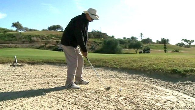 Golfing in Tunisia