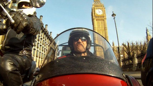 Motorbike in Westminster