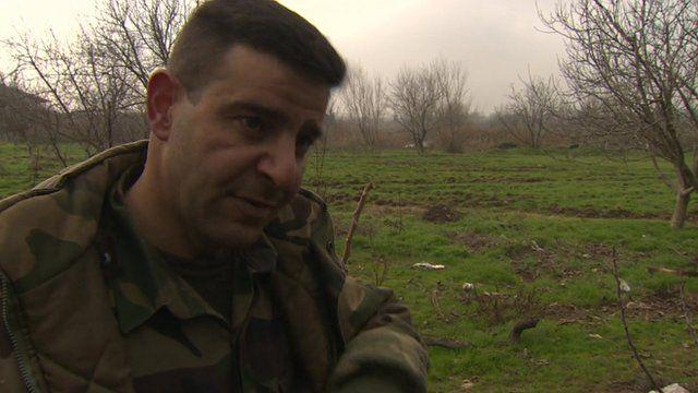 Syrian army commander