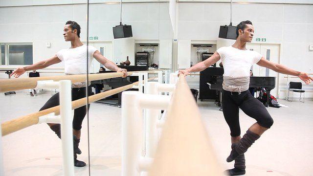 Colombian dancer Fernando Montano