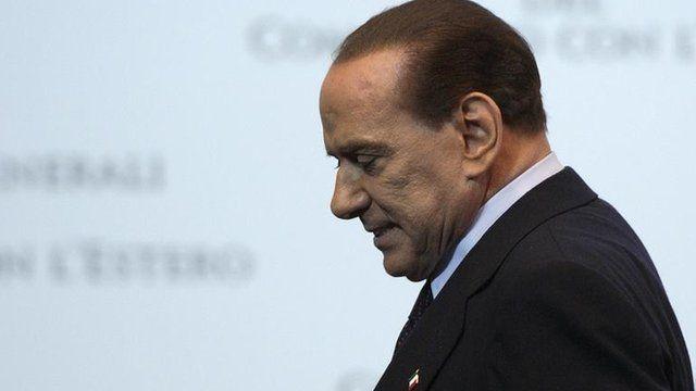 Former Prime Minister Silvio Berlusconi