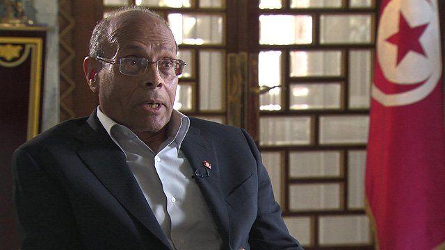 President Moncef Marzouki of Tunisia