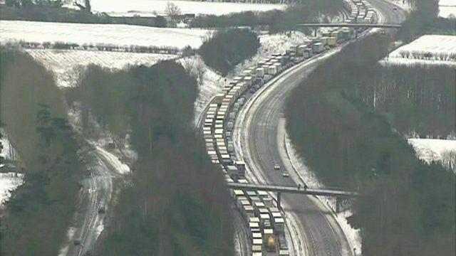 Traffic in UK