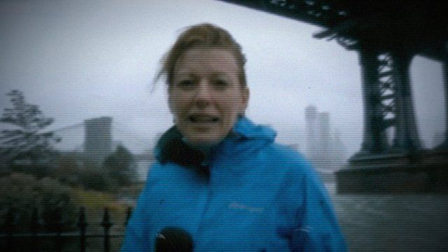 Live The Story: Laura Trevelyan reporting