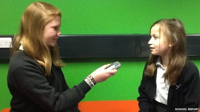 School Reporters discover an atheist church near their school
