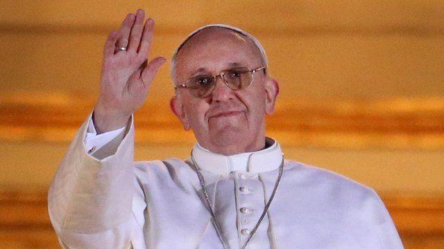 Pope Francis I, formerly Cardinal Jorge Bergoglio
