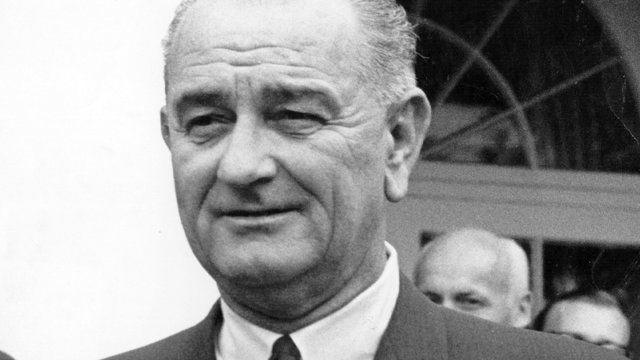 Lyndon Johnson claimed the press lied about Vietnam