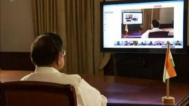 India Finance Minister P Chidambaram