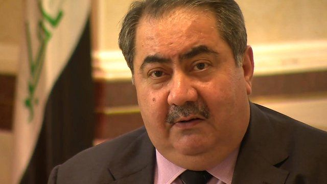 Iraq's Foreign Minister Hoshyar Zebari