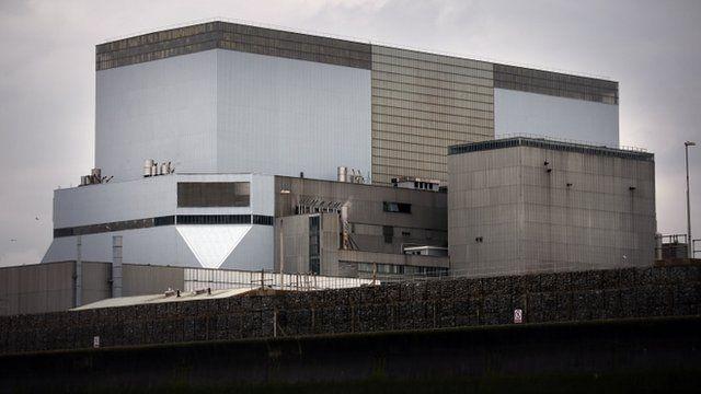 Hinkley Point B nuclear reactor
