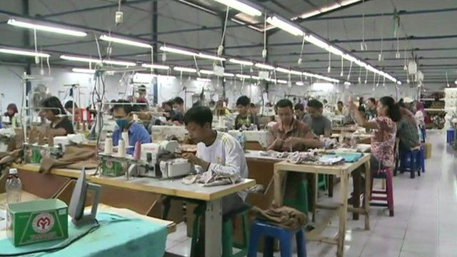 Indonesian garment workers