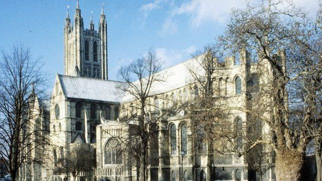 Enthronement at Canterbury Cathedral