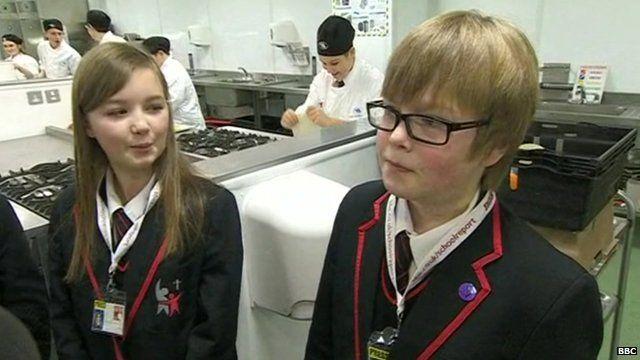 School Reporters from Samworth Church Academy