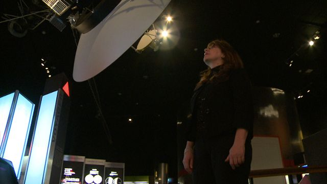 Adriana Ocampo at the Air and Space Museum