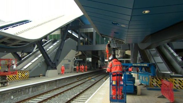 Reading railway station will be closed over Easter weekend as upgrade work continues