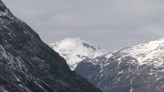 Mountains in Glencoe