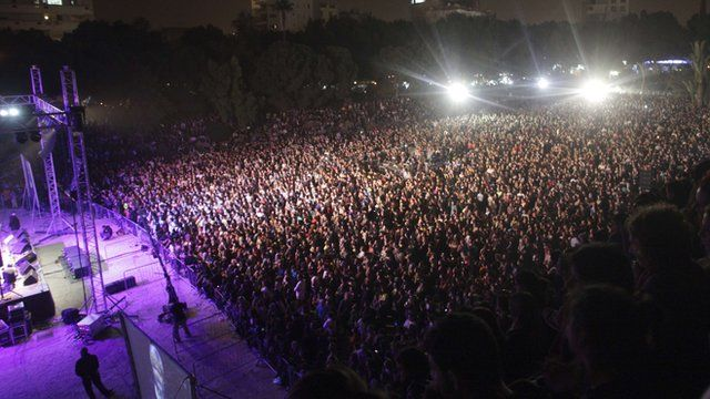 """Thousands of people attend the """"Cyprus Aid"""""""