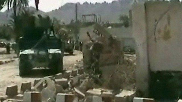 Scene of Afghan bomb blast