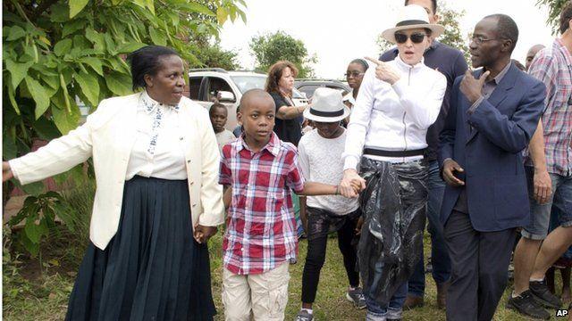 Madonna in Malawi