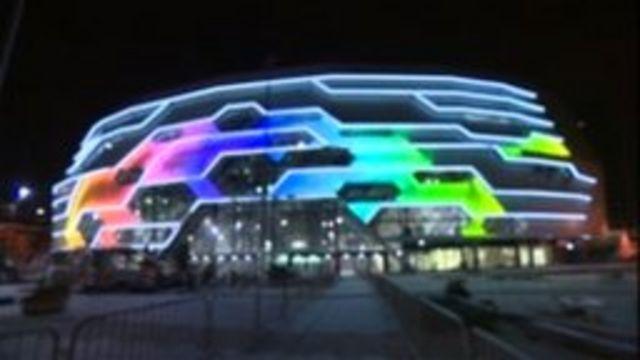 Lighting at Leeds arena