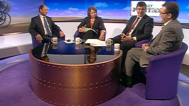 Shailesh Vara, Jo Coburn, Andy Sawford and Mark Hunter