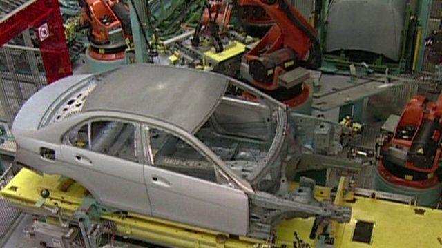 Daimler car factory