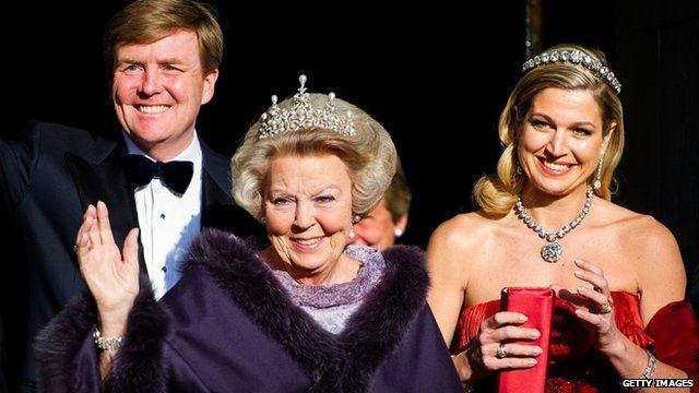 Dutch Queen abdication ceremony